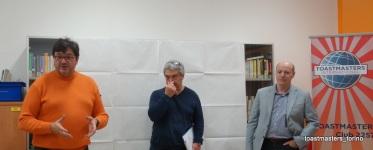 Mauro e Francesco alle prese con la Table Topic