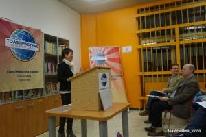 le sfide, toastmasters Torino, parlare in pubblico